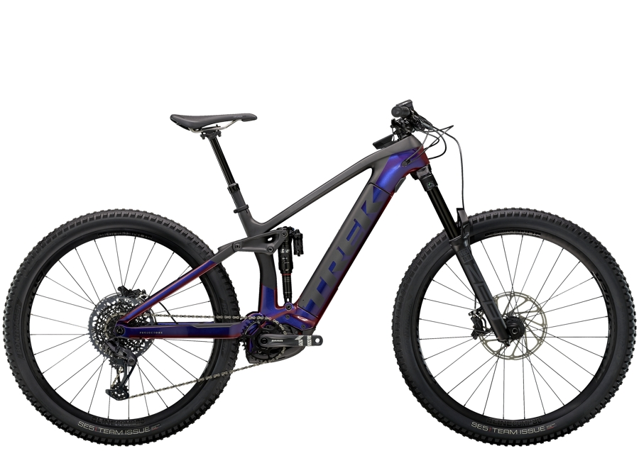 Trek Rail 9.8 S Gloss Purple Phaze/Matte Raw Carbon