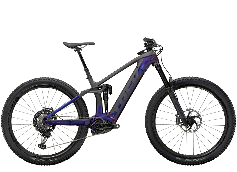 Trek Rail 9.9 XTR L Gloss Purple Phaze/Matte Raw Carbon